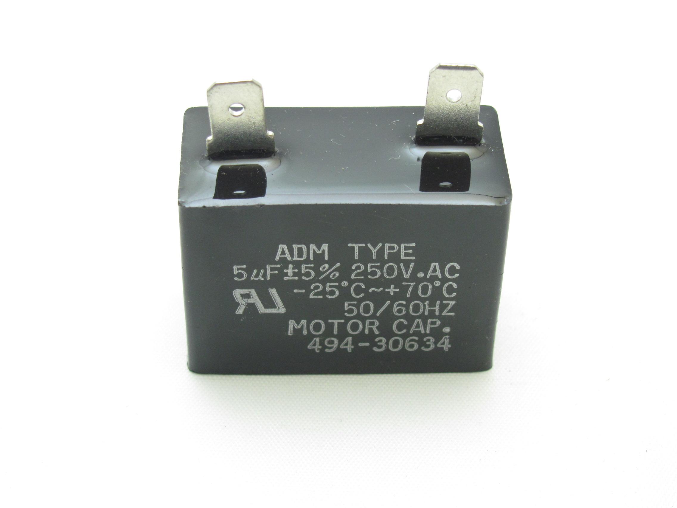 494 30634 5 Uf 250 Vac Capacitor Capacitor Industries