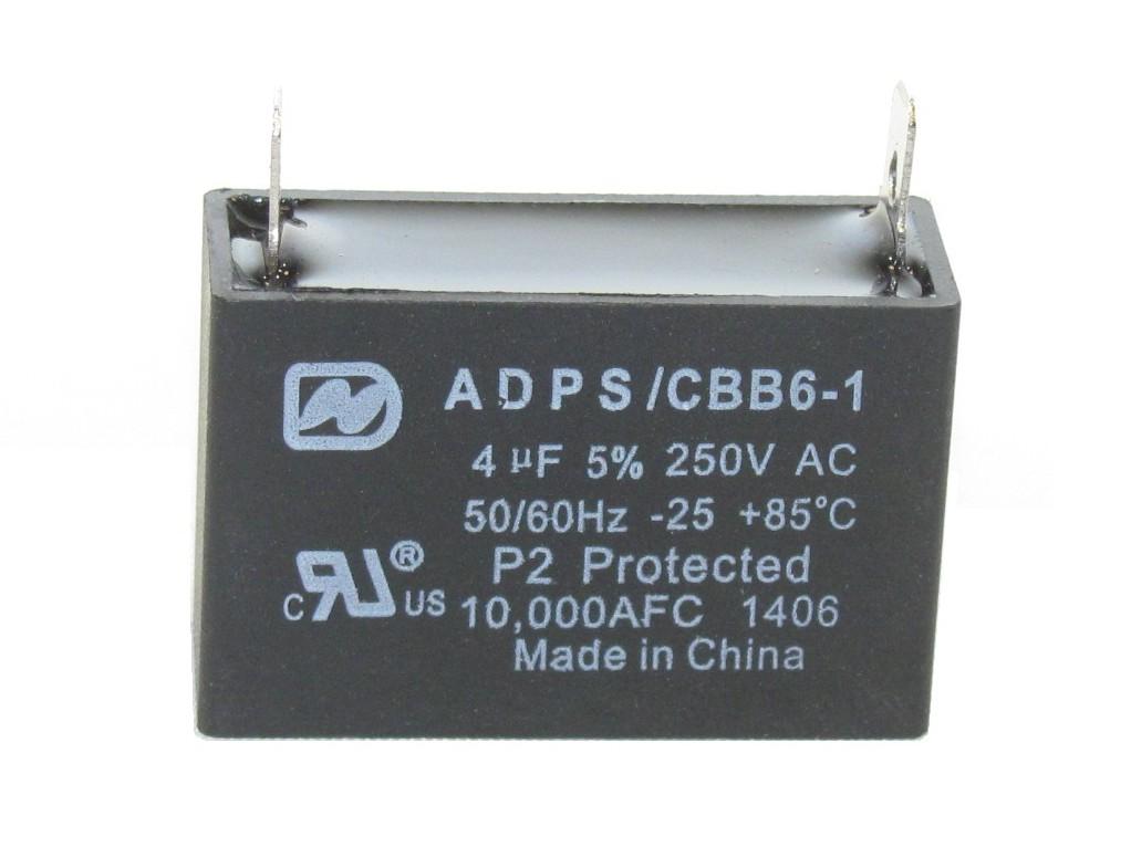ADPS Motor Run Capacitors