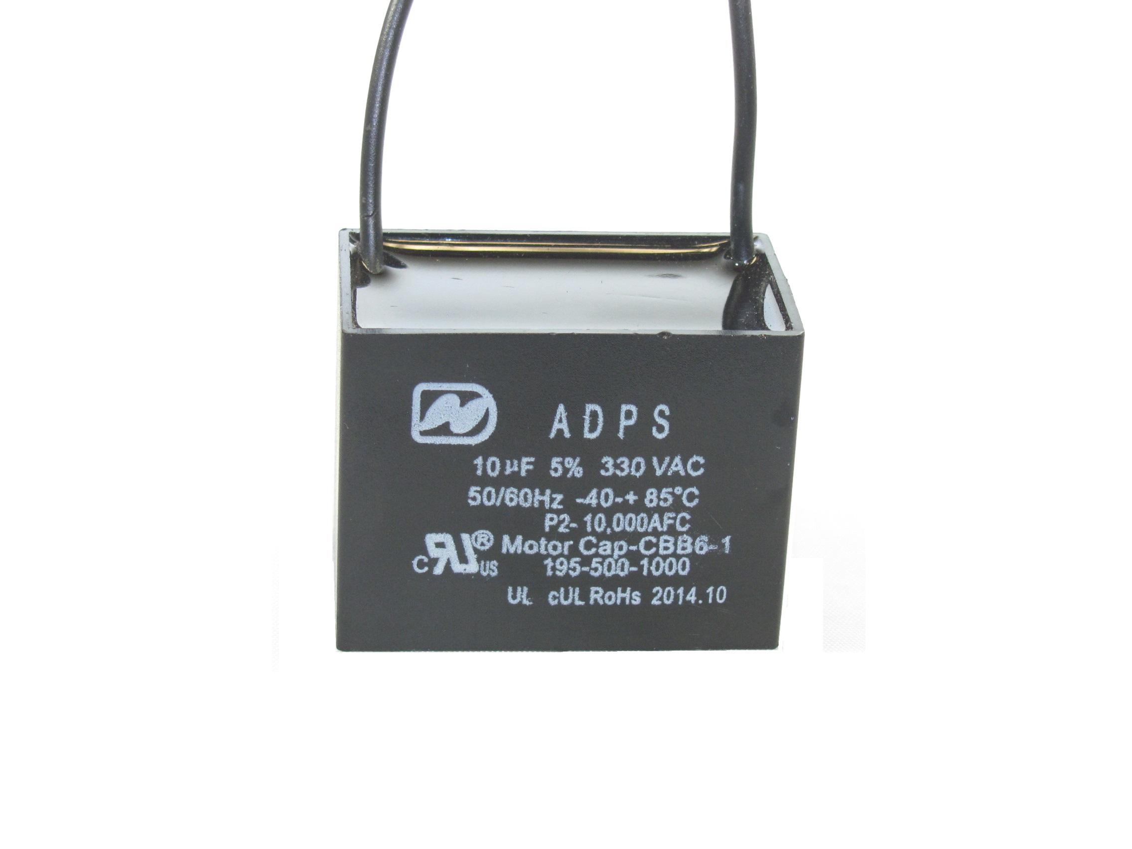 ADPS330M106J 10 uF 330 VAC Capacitor 195-500-1000