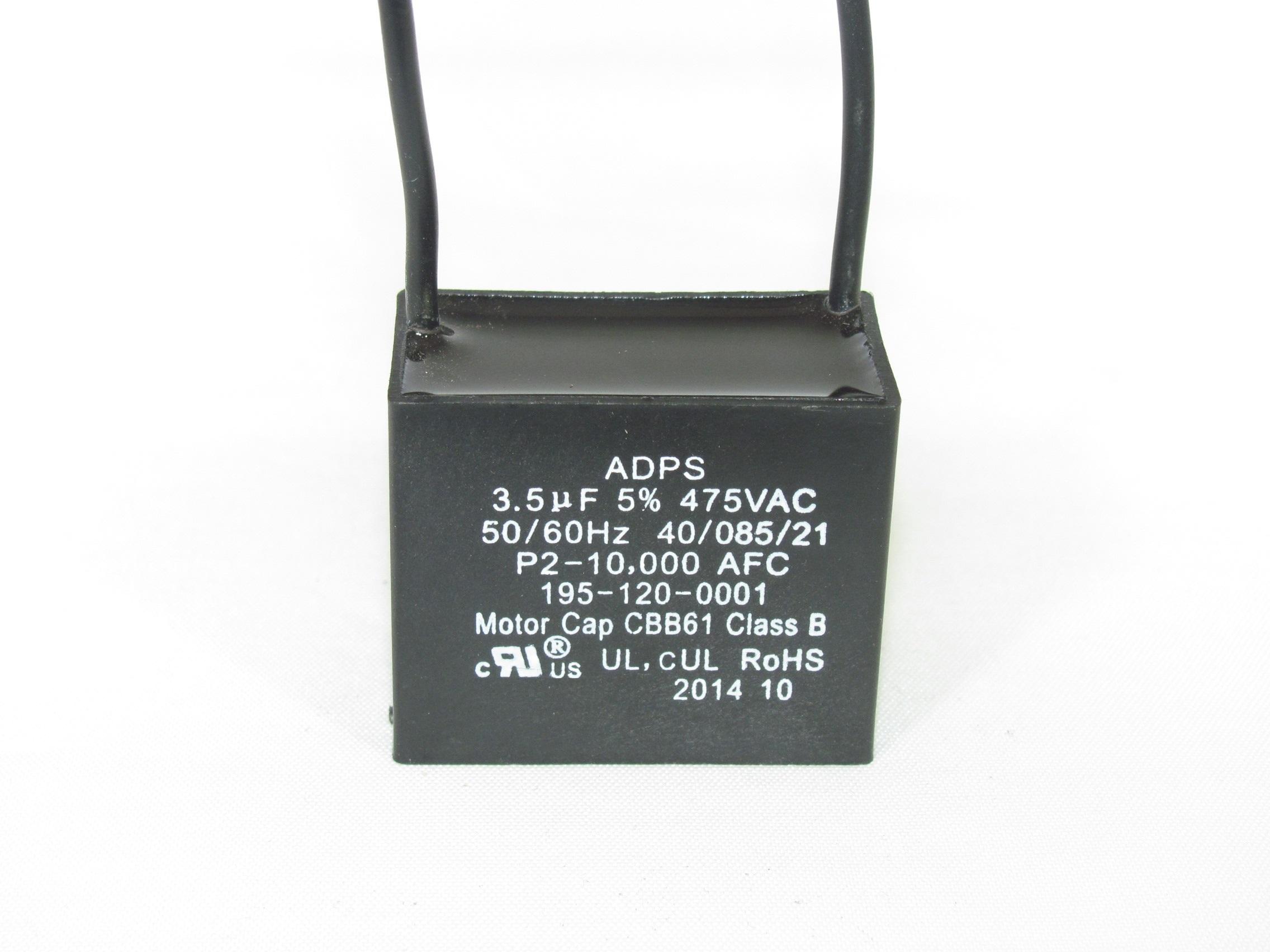 ADPS475M355J 3 5 uF 475 VAC Capacitor 195-120-0001