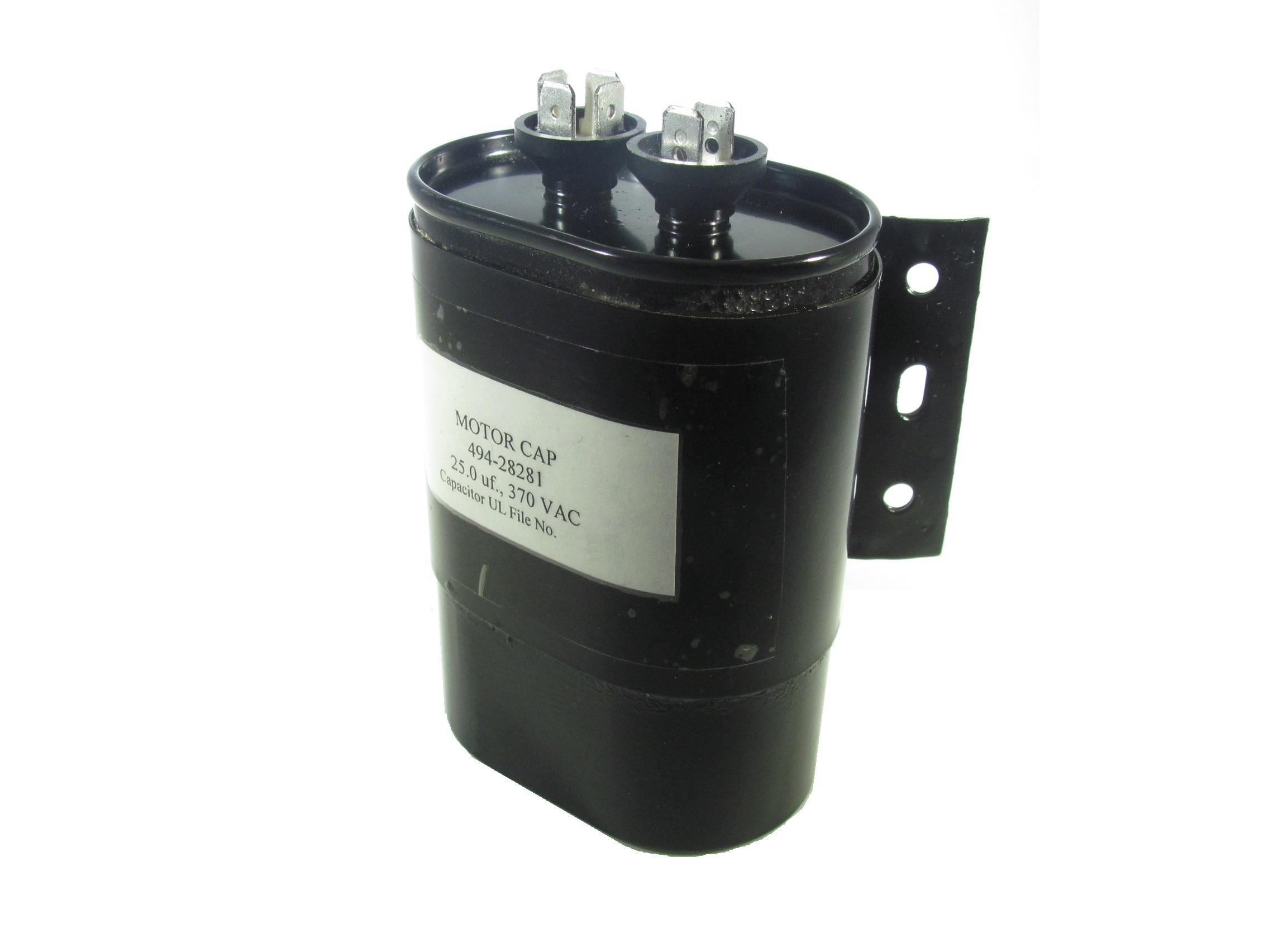 494-Series Oil-Filled Motor Run Capacitors