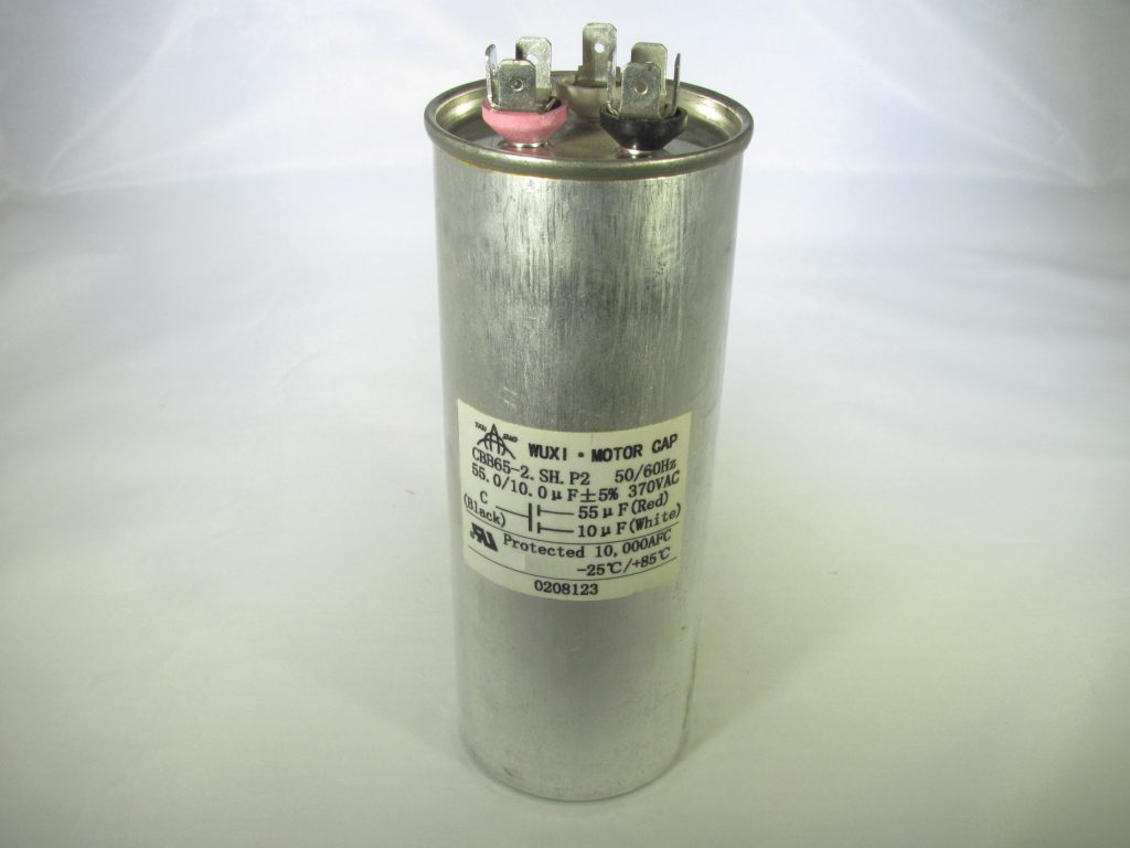 Cbb65 370r1055 10 55 Uf 370 Vac Capacitor Capacitor
