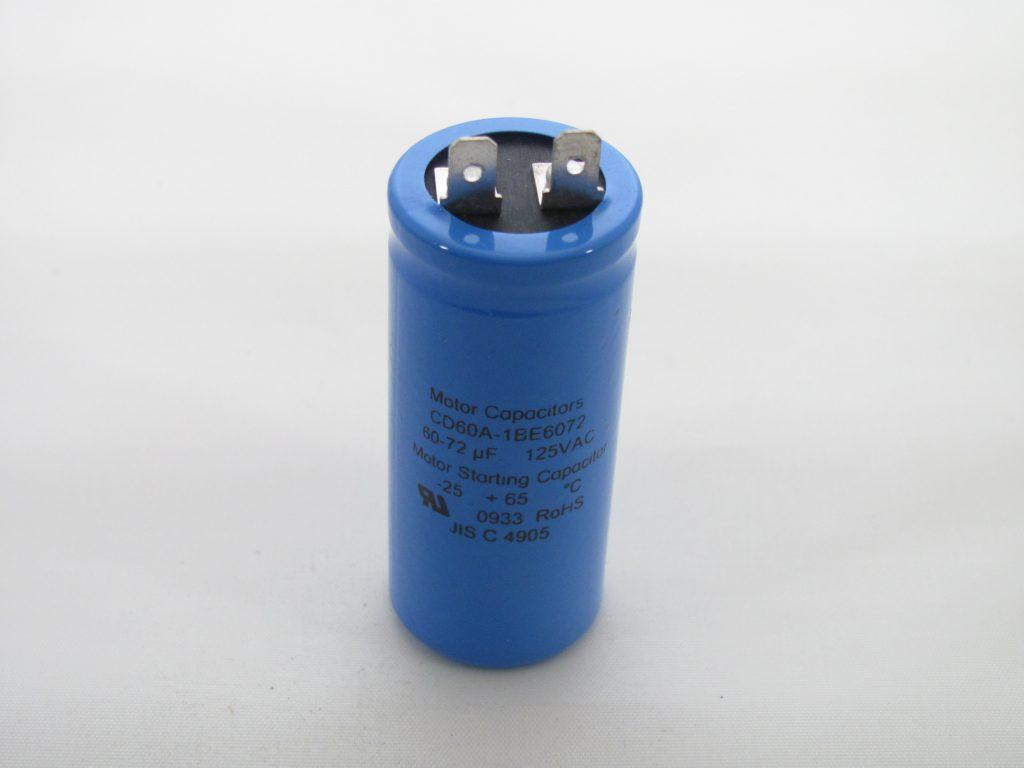 Cd60a-1be6072 60-72 Uf 125 Vac Capacitor