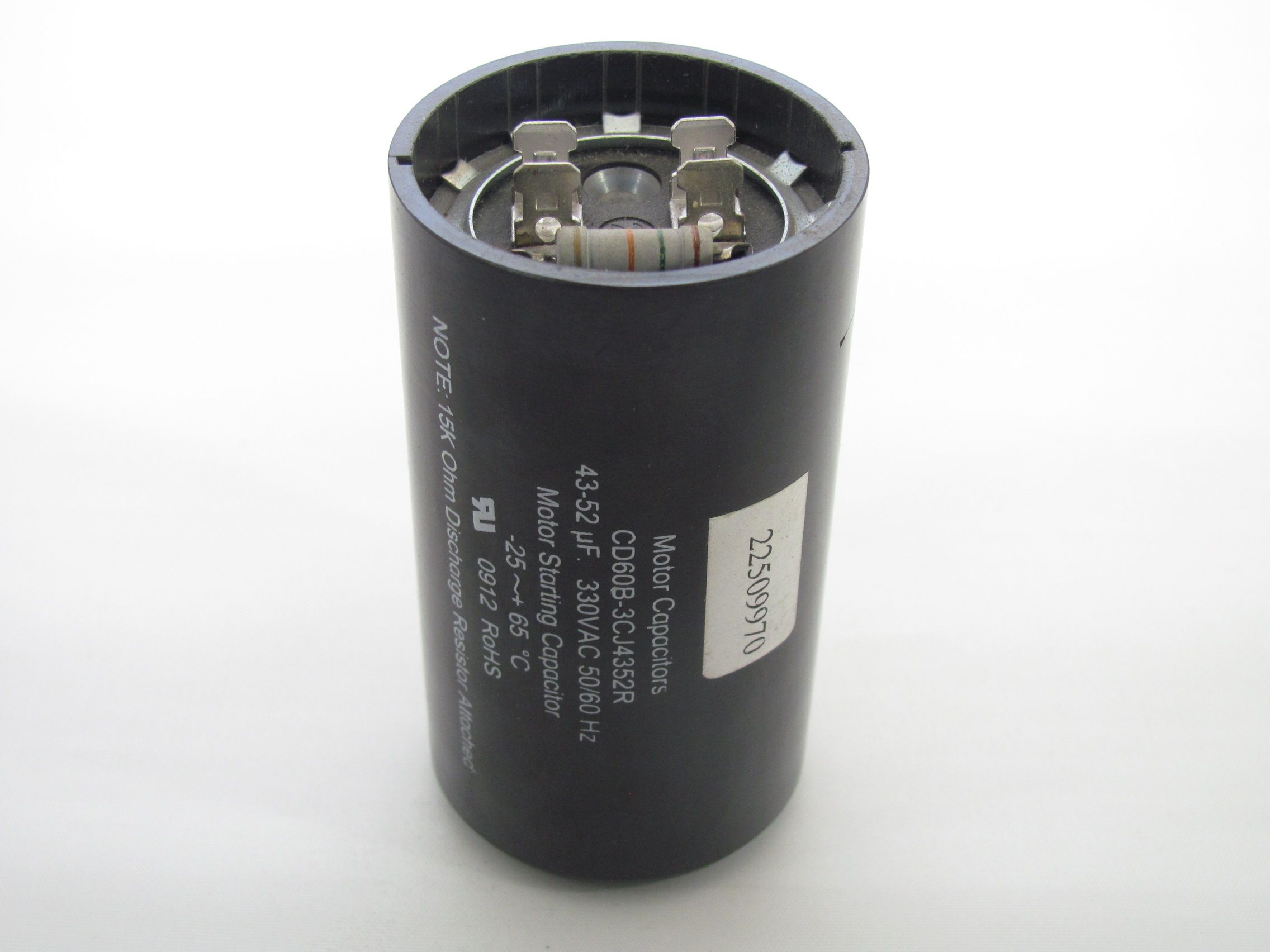 Cd60b 3cj4352r 43 52 Uf 330 Vac Capacitor 22509970