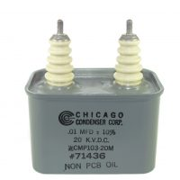 CMP High Voltage Capacitors