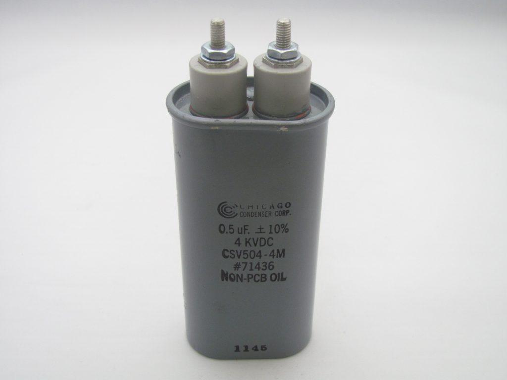 High Voltage Snubber : Csv m uf kvdc capacitor industries