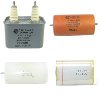 High Voltage DC Capacitors