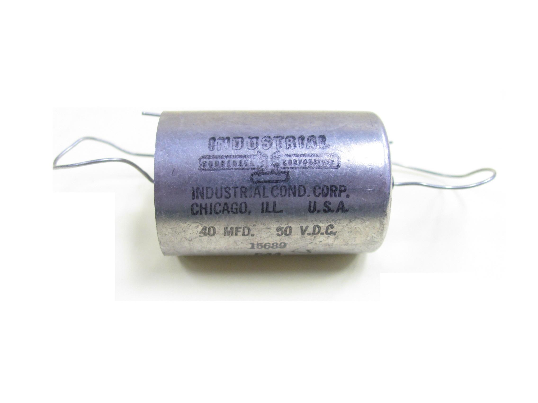 Industrial Condenser Capacitors