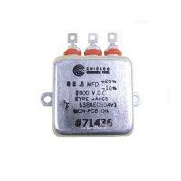 CP53/CP54/CP55 MIL Spec Capacitors