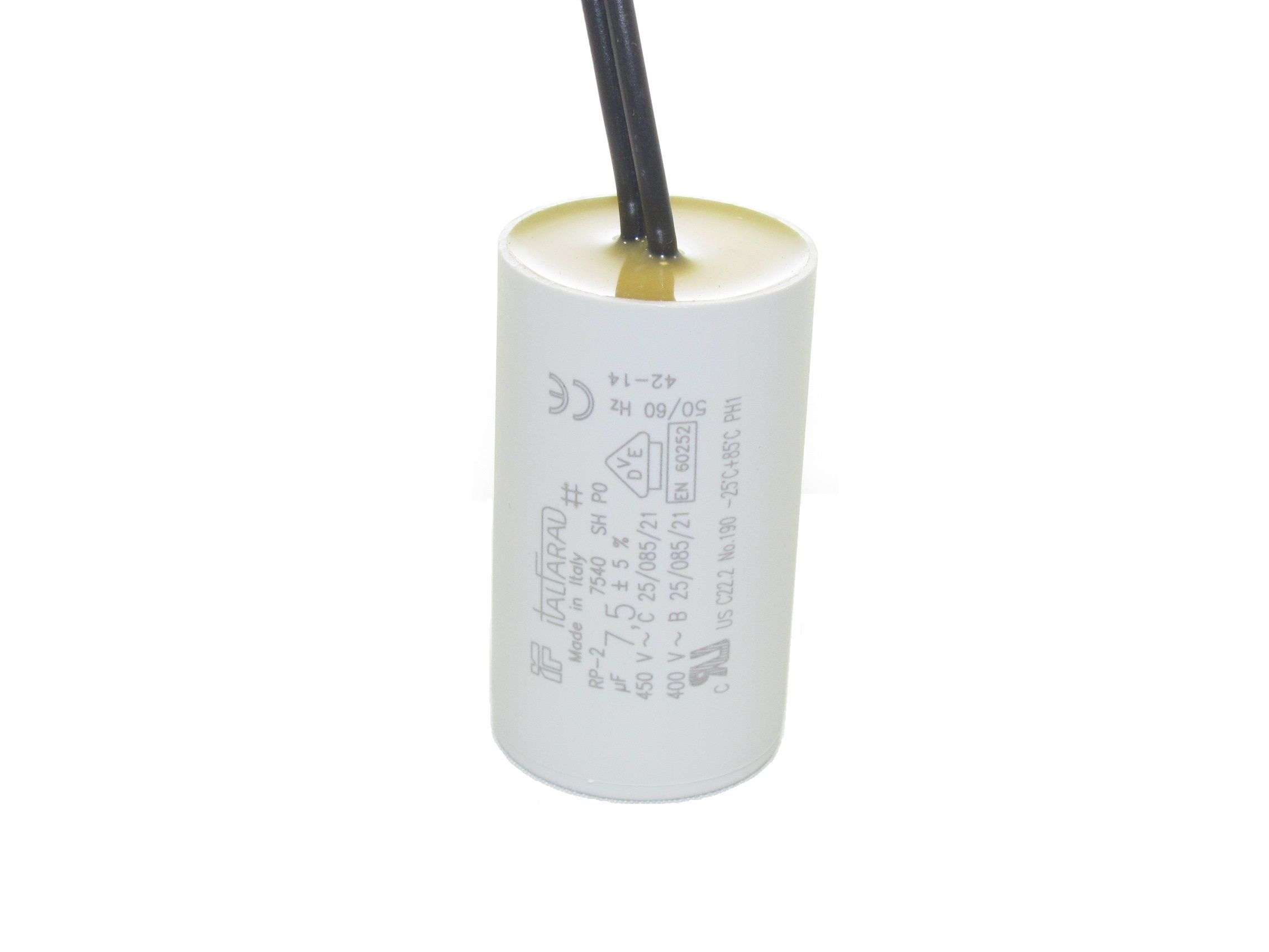 Italfarad RPC (Insulated Wire Leads) Capacitors