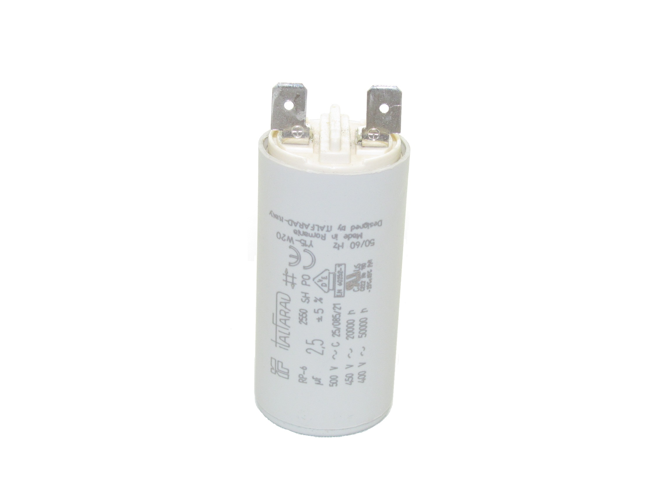 Italfarad RPN (Quick-Connect Terminals) Capacitors