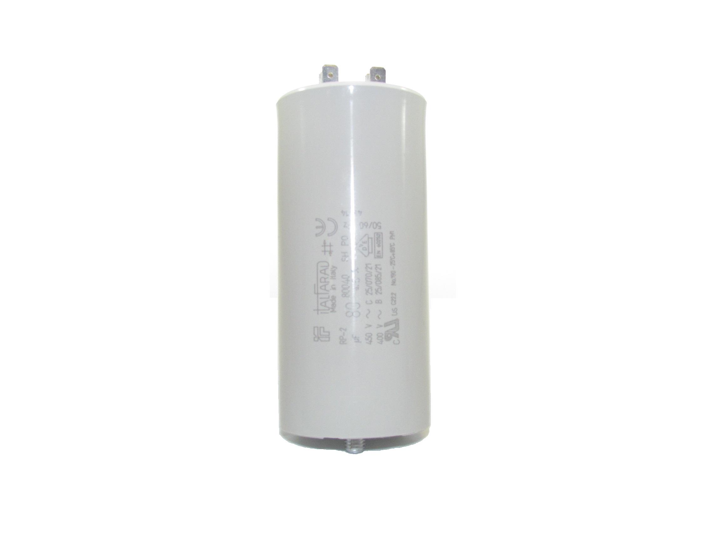 Rpn2f806m8 80 Uf 400 450 Vac Capacitor 9312400800500